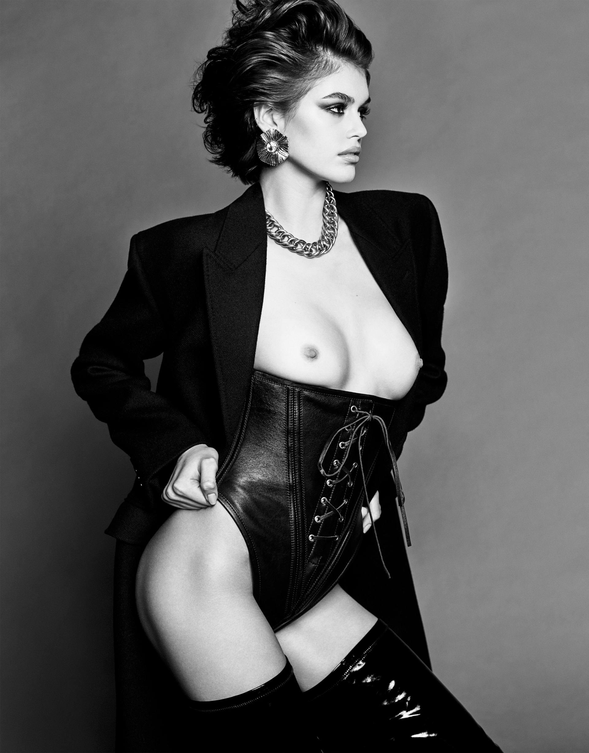 Kaia Gerber Topless