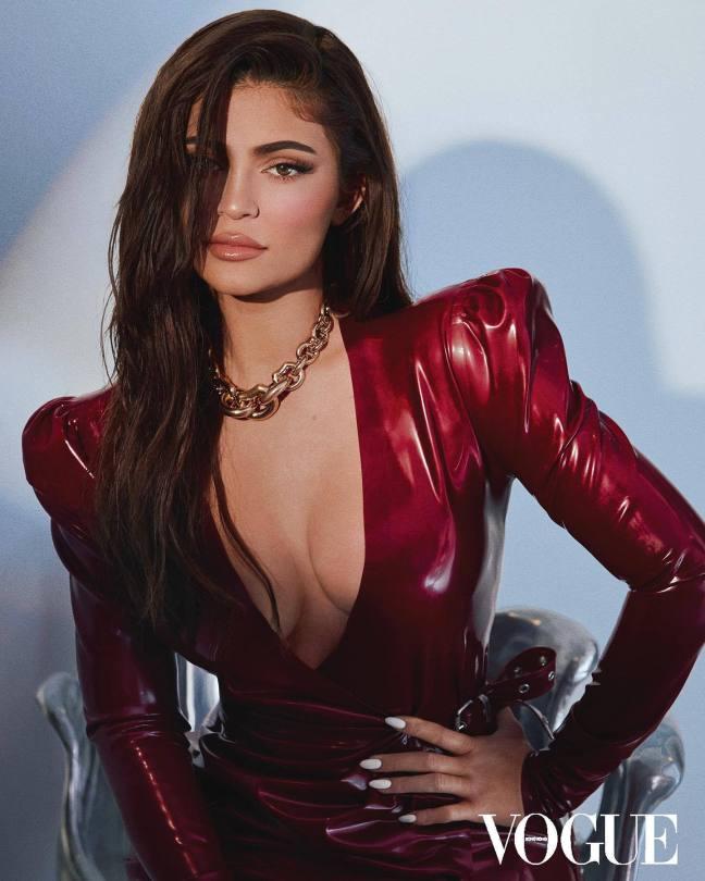 Kylie Jenner Big Cleavage