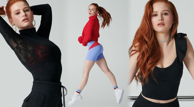 Madelaine Petsch – Beautiful Ass in Sexy Photoshoot for Fabletics x Madelaine Collection 2020