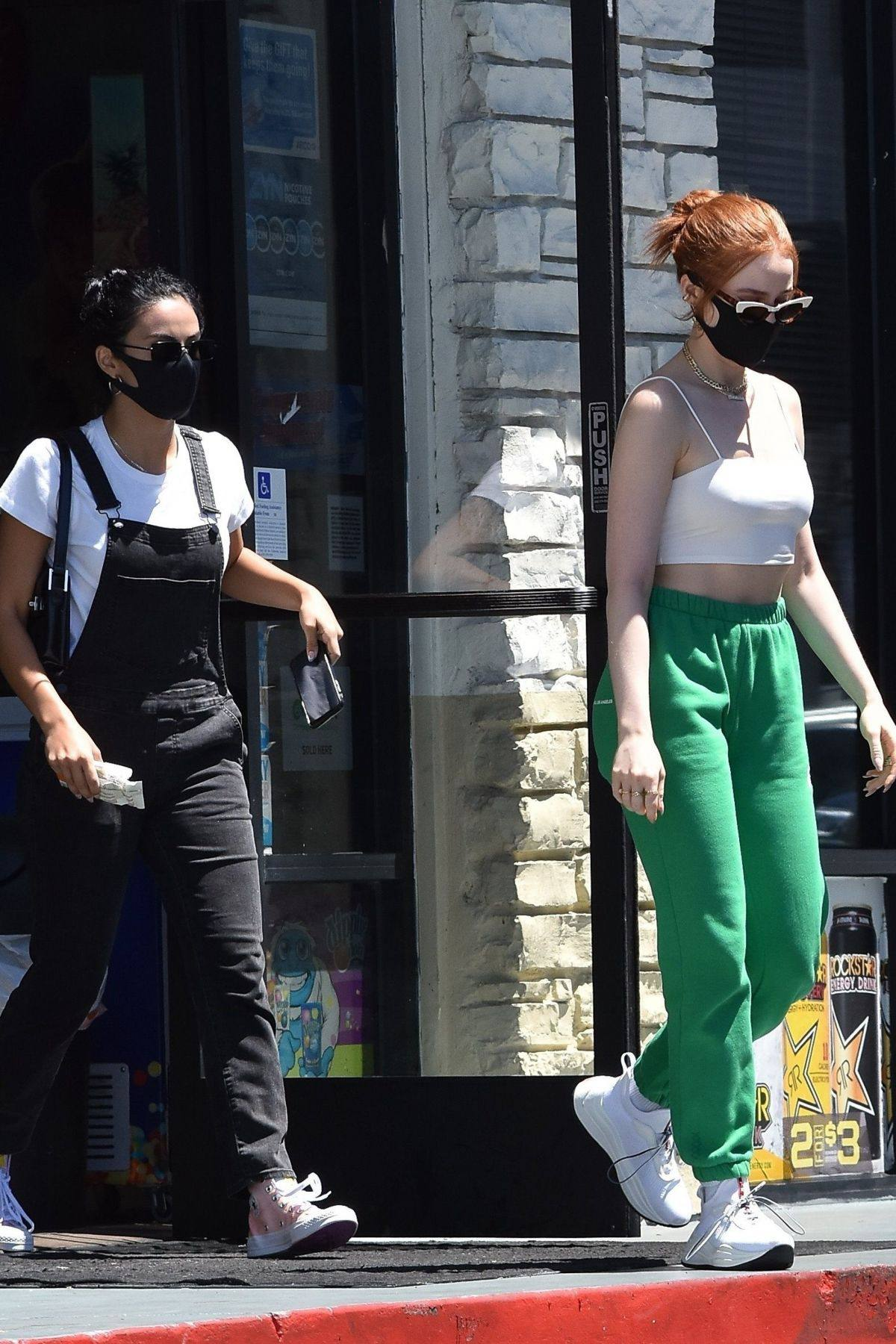 Madelaine Petsch And Camila Mended
