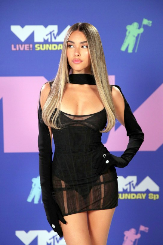 Madison Beer Sexy Tiny Dress