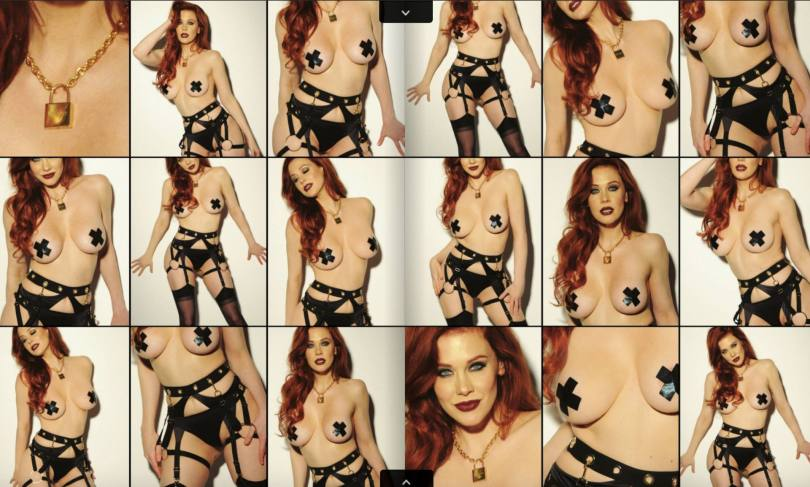 Maitland Ward Topless Photoshoot