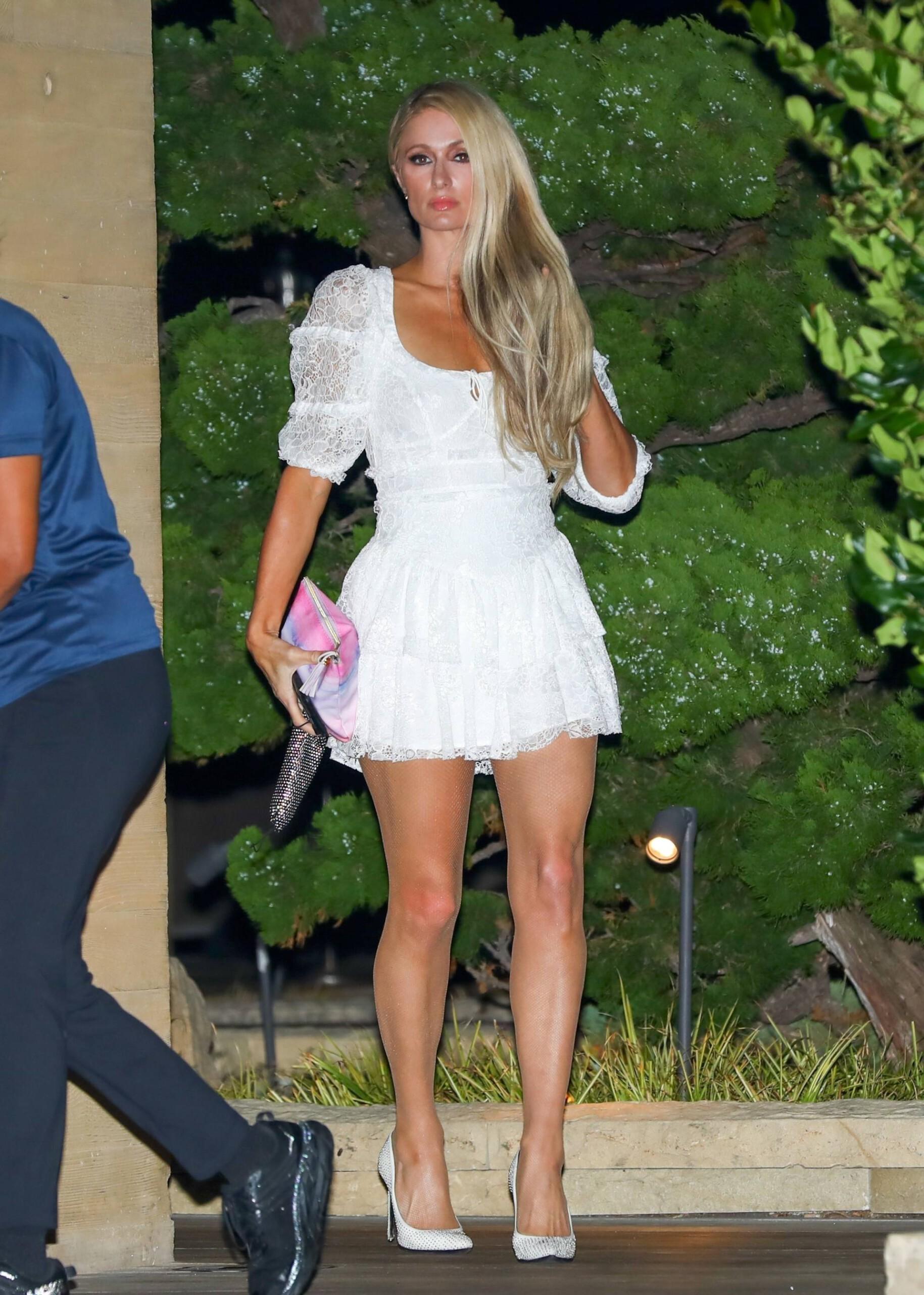 Paris Hilton In Short Dress