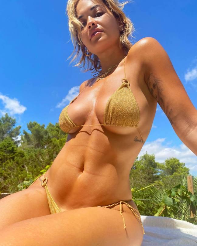 Rita Ora Fantastic Tits