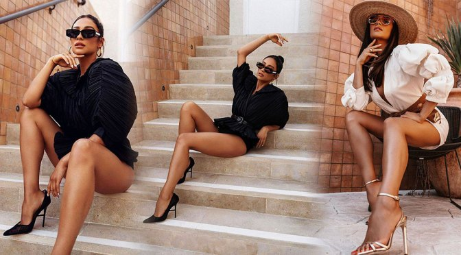 Shay Mitchell – Beautiful Legs in Sexy Photoshoot by Flannery Underwood