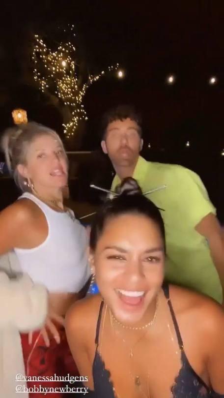 Vanessa Hudgens Hot Boobs In Big Cleavage