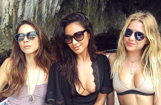 Ashley Benson Shay Mitchell Troian Bellisario Sexy Pic