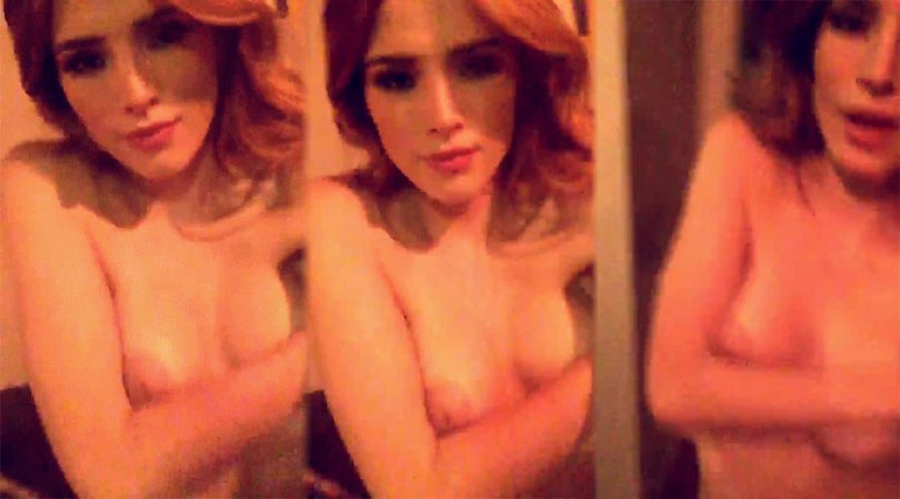 Bella Thorne Topless Leaked Video