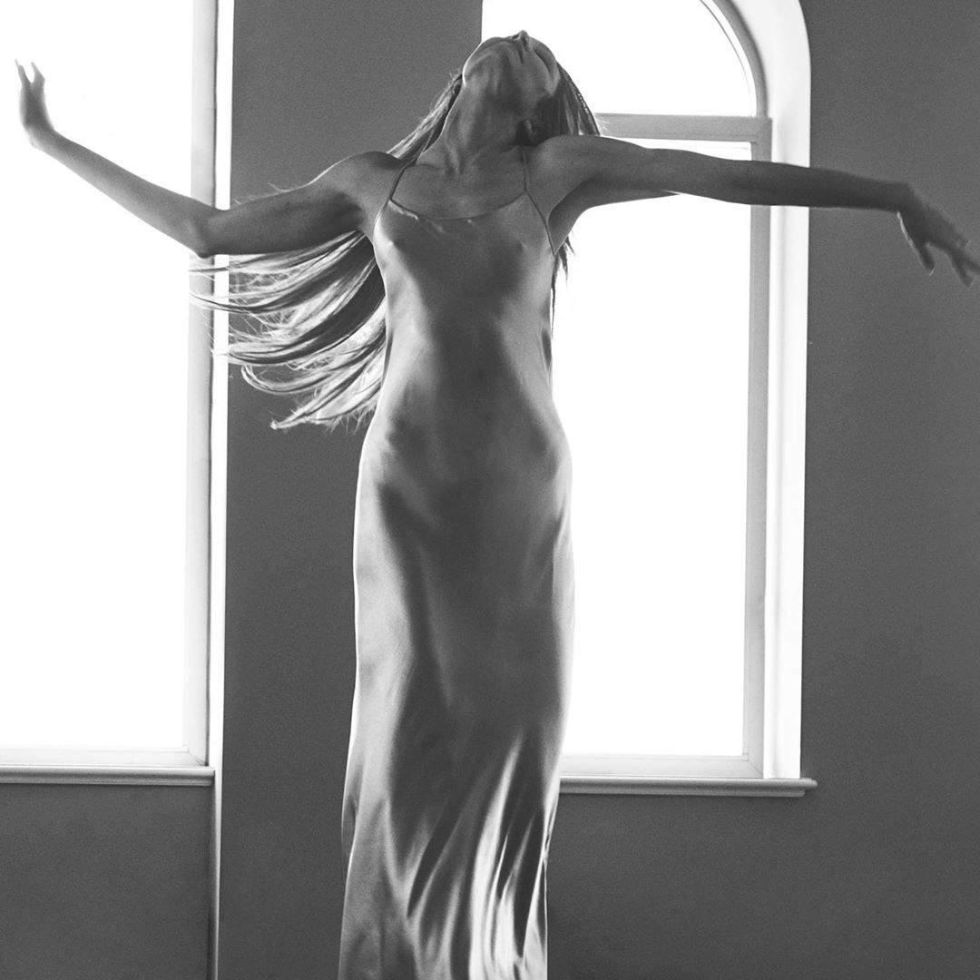 Candice Swanepoel See Through Dress
