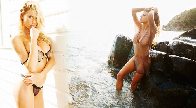 Charlotte McKinney – Beautiful Braless Boobs and Nipples in Hot Photoshoot for Gosee Magazine (NSFW)
