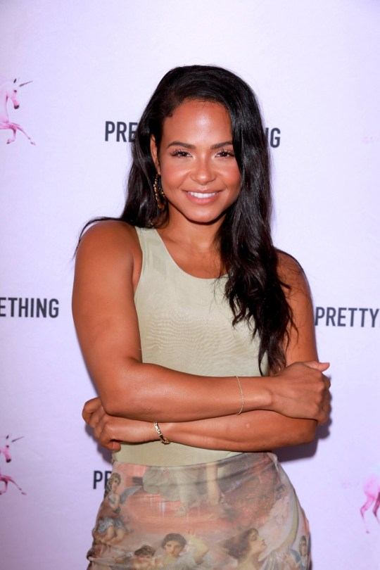 Christina Milian Braless And Leggy