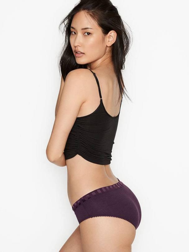 Hyunjoo Hwang - Beautiful Ass in Sexy Panties for Victoria's Secret Photoshoot