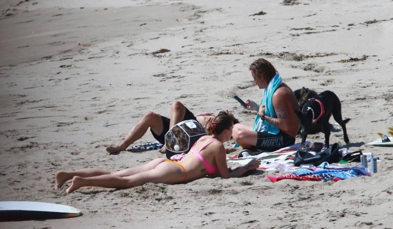 Ireland Baldwin In Small Bikini