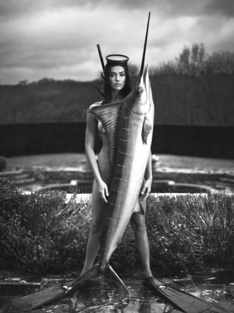 Irina Shayk - Hot Ass in Naked Photoshoot for Double Magazine