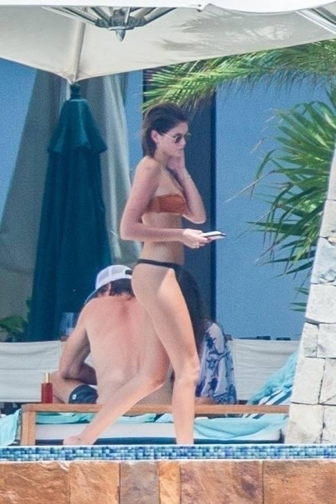 Kaia Gerber In Thong Bikini