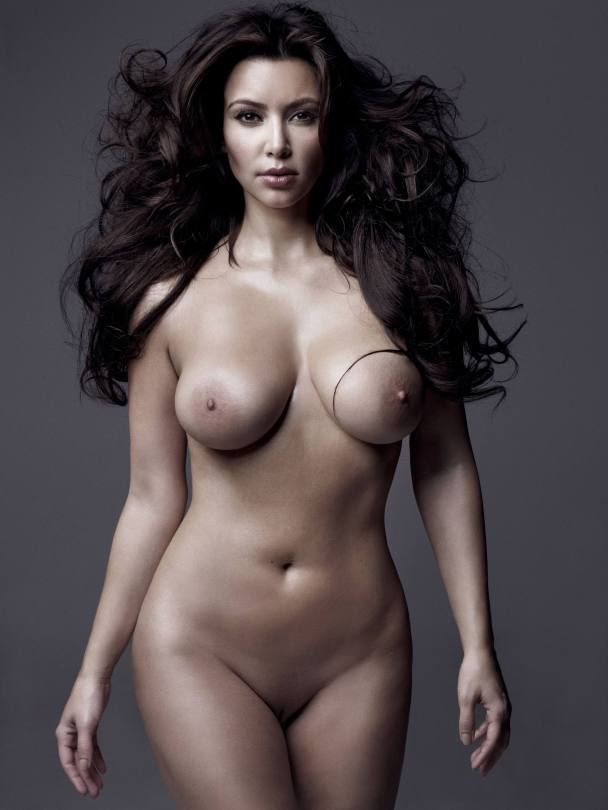 Kim Kardashain Full Frotnal Nudity