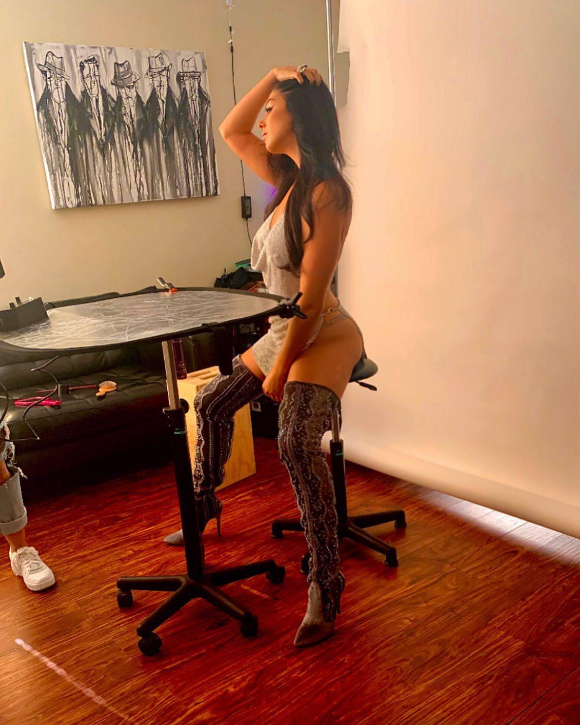 Kira Kosarin Hot In Sexy Boots