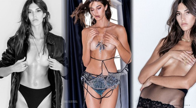 Marilhea Peillard – Beautiful Boobs in Topless Photoshoot for Maxim Magazine (September/October 2020)