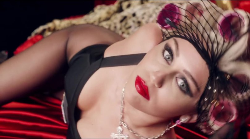 Miley Cyrus Sexy Boobs In Music Video