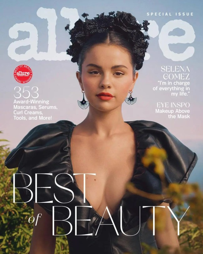 Selena Gomez - Sexy Boobs in a Beautiful Photoshoot for Allure Magazine (October 2020)
