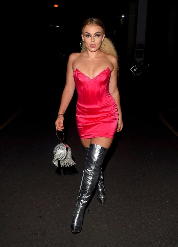 Talia Storm In Sexy Dress