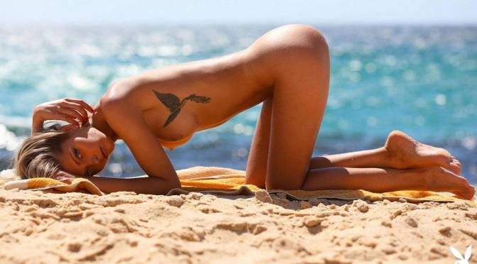 Alina Boyko – Beautiful Naked Body in Sexy Photoshoot for Playboy Portugal (NSFW)