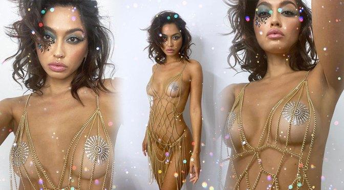 Ambra Gutierrez Hot Naked Boobs