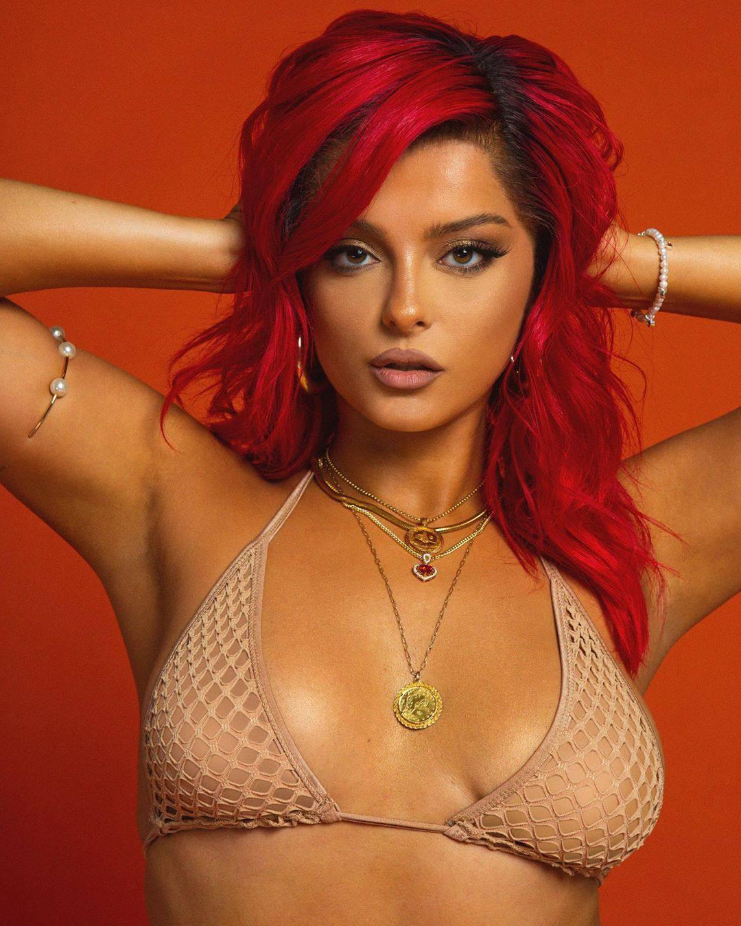 Bebe Rexha Sexy In Bra