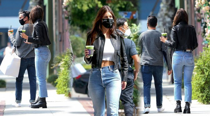 Camila Morrone – Sexy in Tight Jeans Out in West Hollywood