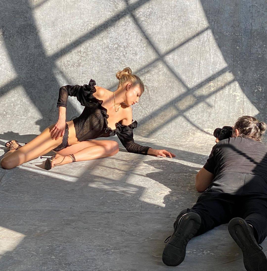 Charlotte Mckinney Sexy Underwear Photoshoot