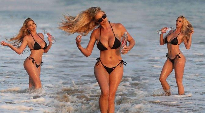 Elke Hanschke Sexy Big Breasts In Bikini