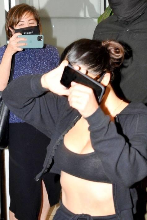 Kim Kardashian Sheer Top