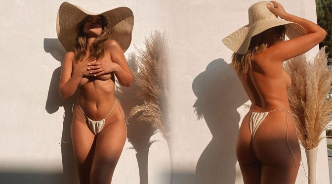 Sofia Jamora – Hot Body in Sexy Topless Photoshoot