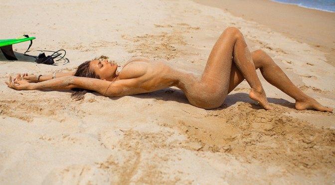Viki Odintcova – Fantastic Body in Sexy Topless Photoshoot (NSFW)