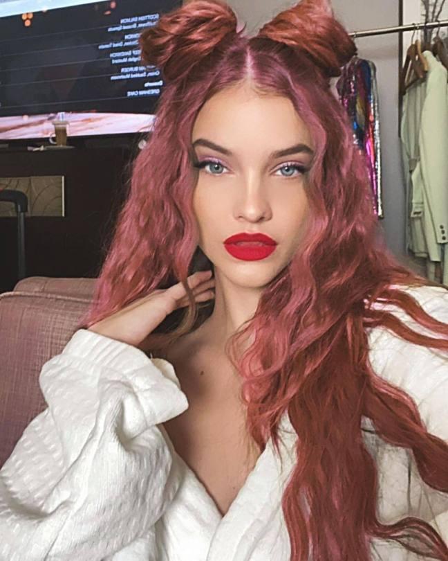 Barbara Palvin Sexy Redhead