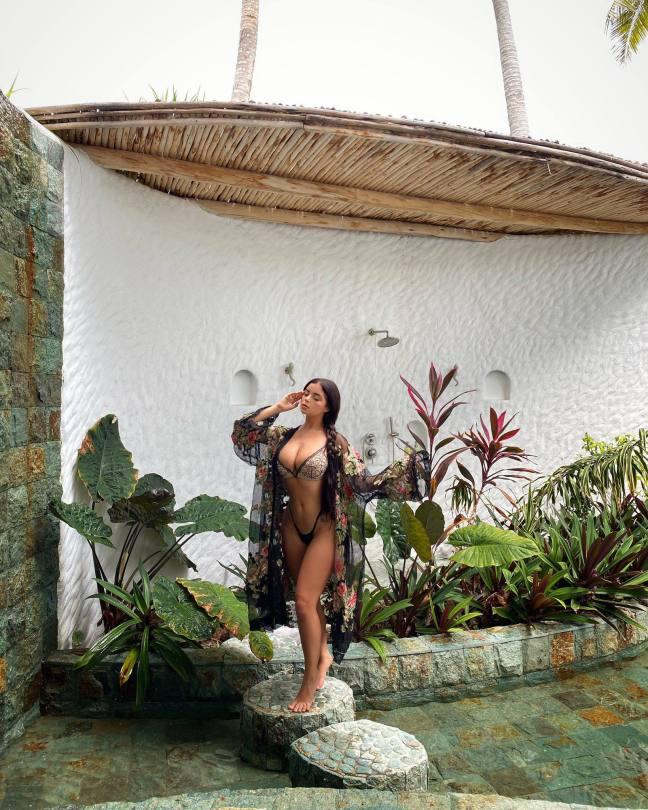 Demi Rose Mawby Sexy In Bikini