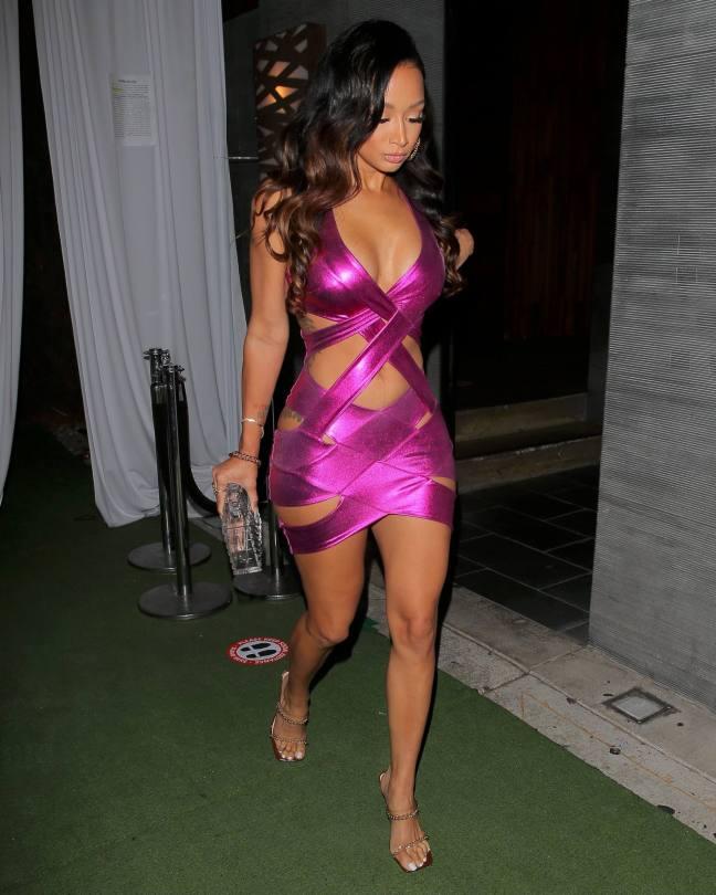 Draya Michele Sexy Dress