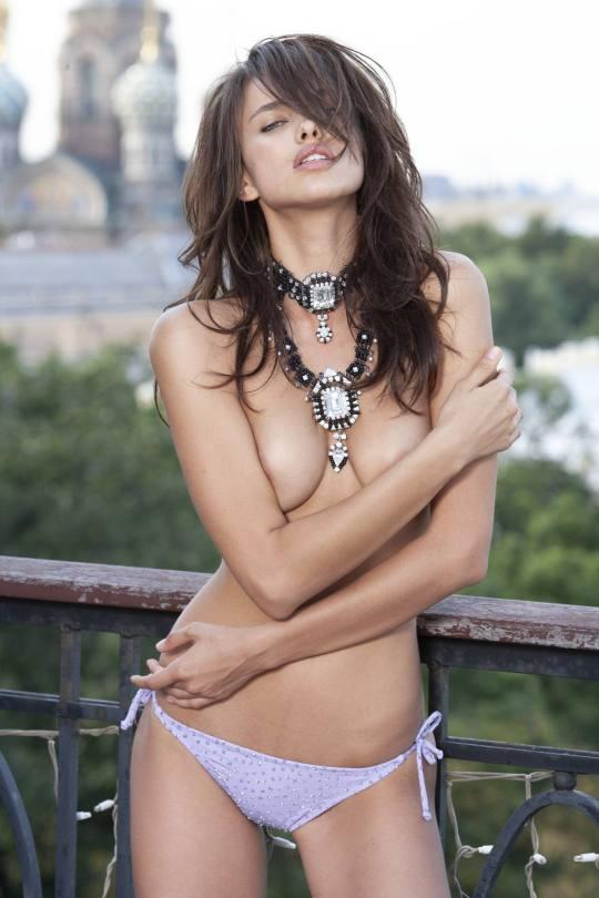 Irina Shayk Sexy Nipples And Boobs