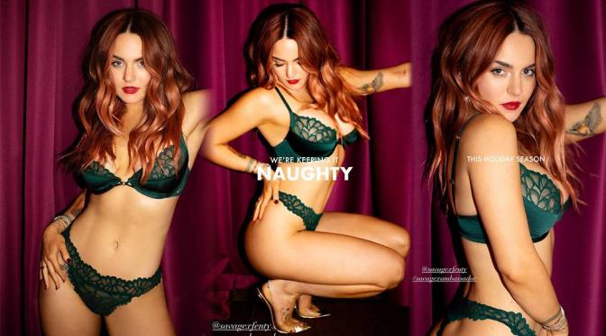 JoJo Levesque – Beautiful Boobs in Sexy Savage X Fenty Lingerie Photoshoot