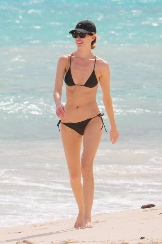 Martha Hunt Sexy Small Bikini