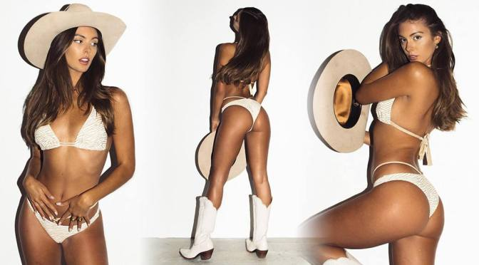 Carmella Rose – Beautiful Ass in a Sexy Cowgirl Photoshoot