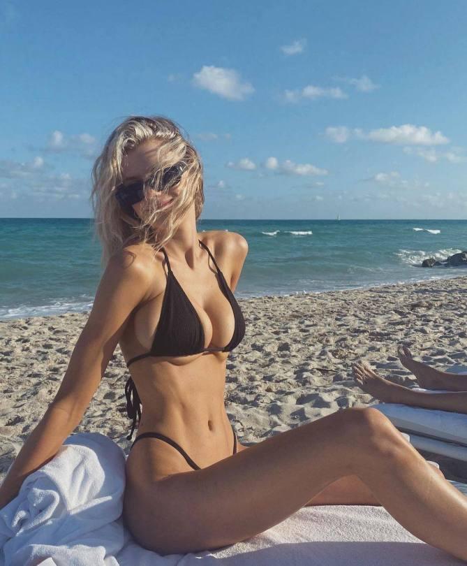 Charlotte Mckinney Big Tits In Bikini