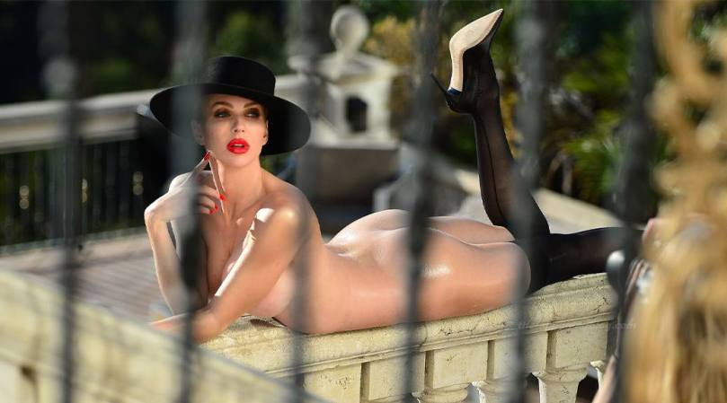 Christine Quinn Naked Photoshoot