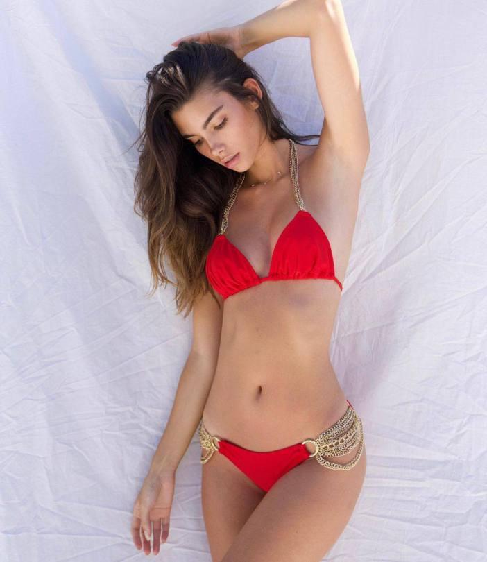 Cindy Mello In Red Bikini