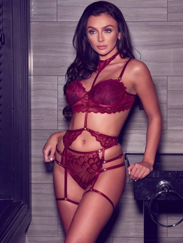 Kady Mcdermott Sexy In Lingerie