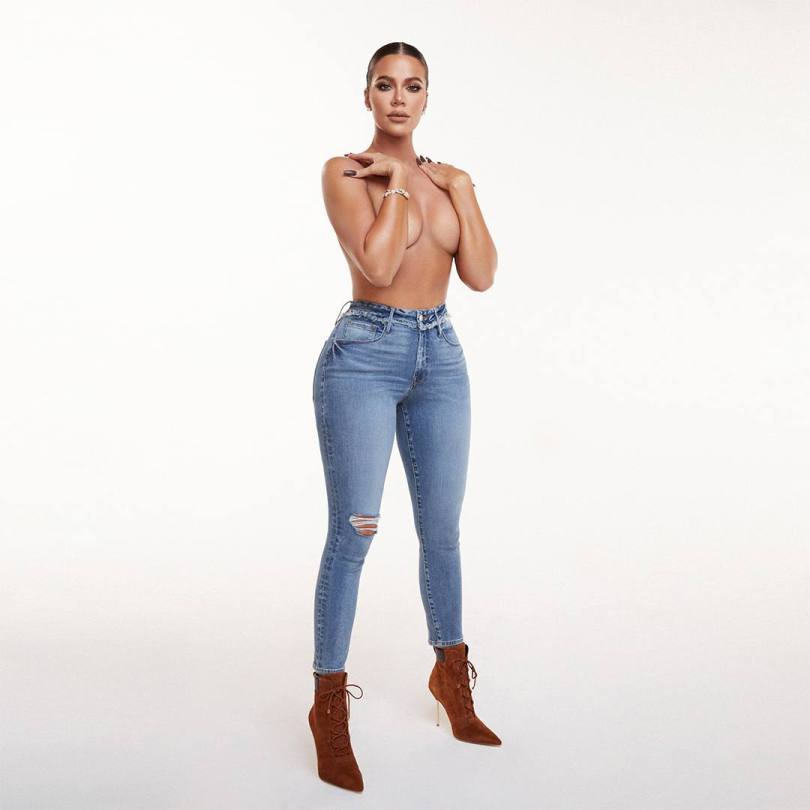 Khloe Kardashian Topless