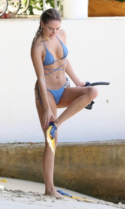 Kimberley Garner Tiny Bikini
