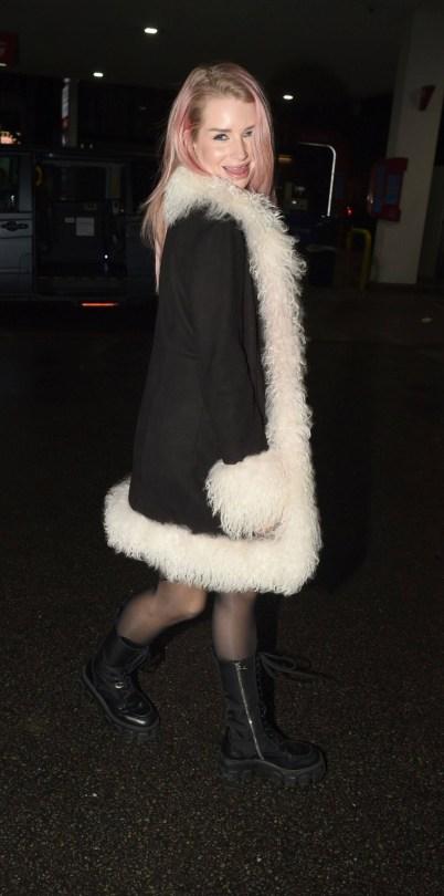 Lottie Moss Sexy In Stockings