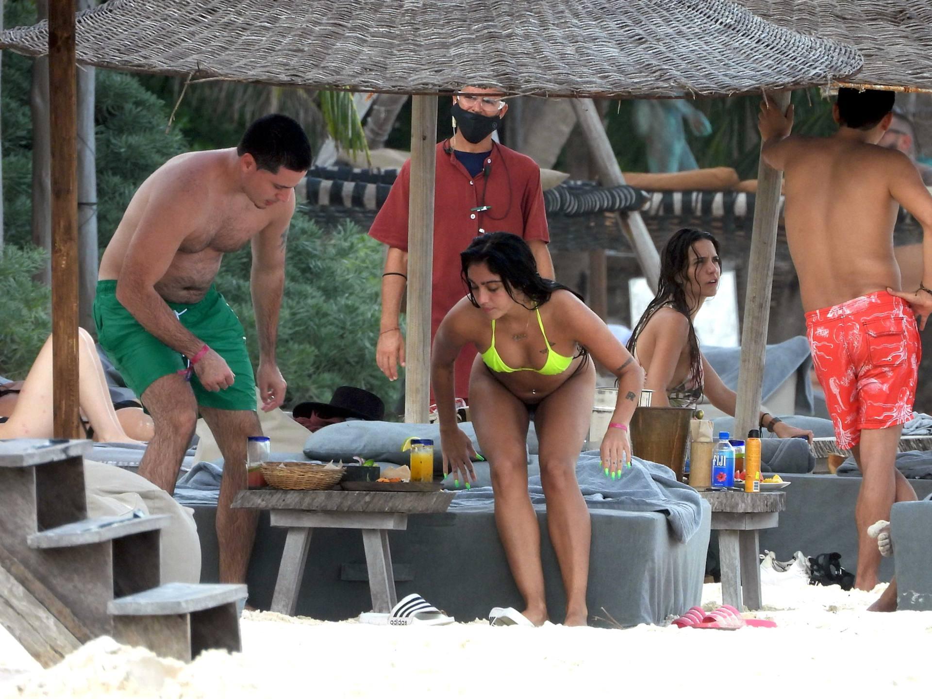 Lourdes Leon Hot In Bikini