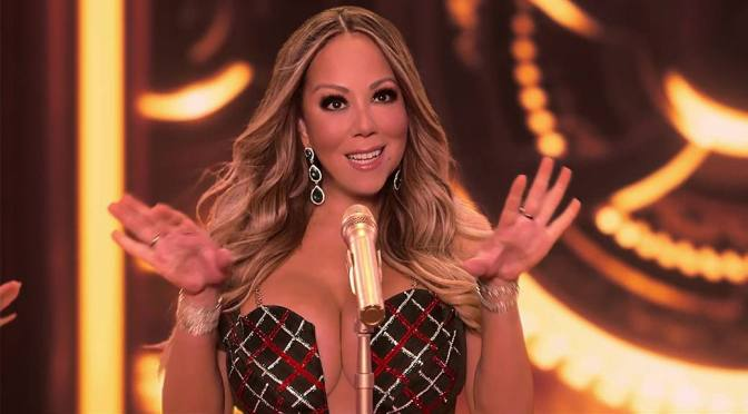 Mariah Carey – Sexy Big Boobs at Christmas Special Concert